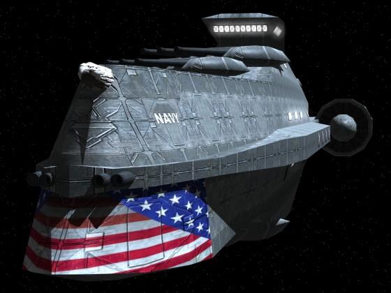 "Liberty ""Raptor"" Class Destroyer - LNS Chessapeke"