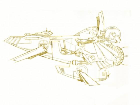 Kusari FOL concept ship