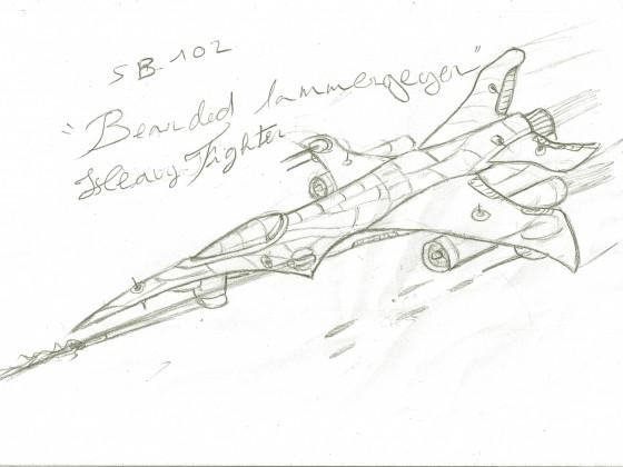 """SB-102_""""Bearded-Lammergeyer""""_Heavy-Fighter"""